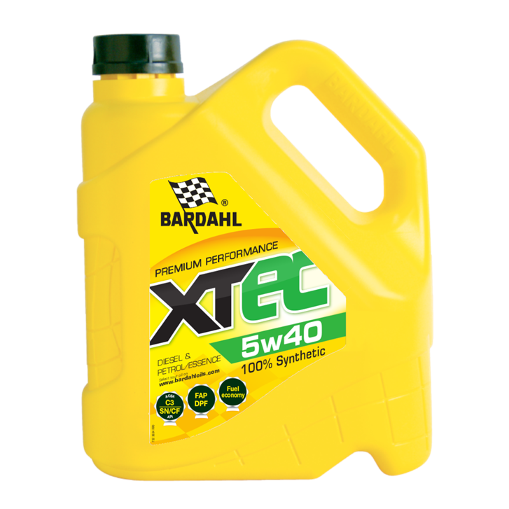 Bardahl XTEC 5W40 4L Engine Oil