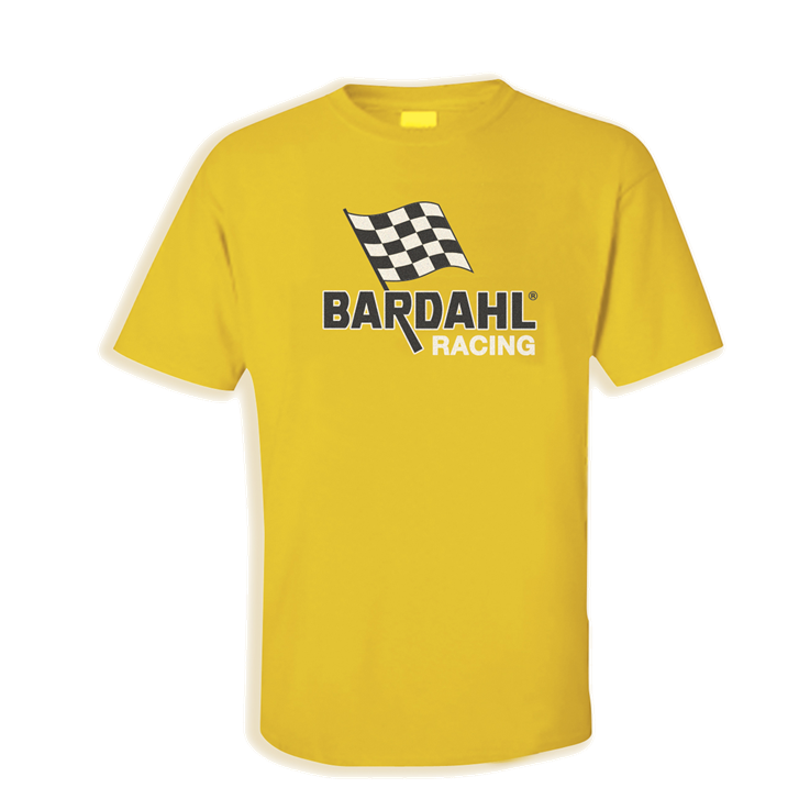 Yellow Bardahl racing t-shirt